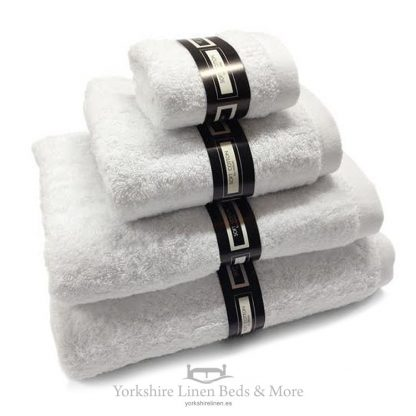 Ambassador Towels White Yorkshire Linen Beds & More P01