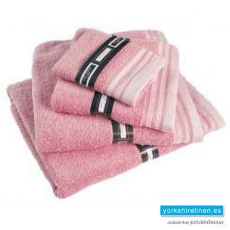 Ambassador Towels in Rose Pink - Yorkshire Linen Warehouse, Mijas Costa and Marbella