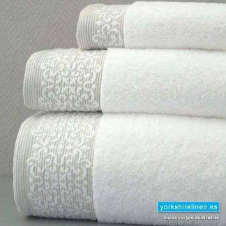 Luxury Jacquard Towel Bale - Yorkshire Linen Warehouse Mijas Marbella P02