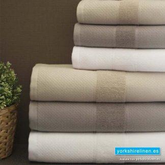 Luxury Towel Bale, Soft Mocha - Yorkshire Linen Warehouse Mijas Marbella P01