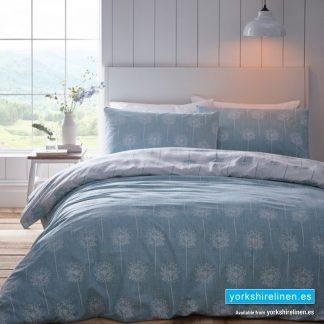 Silhouette Aqua Duvet Cover Set - Yorkshire Linen Warehouse Mijas Marbella