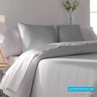 Tarifa Jacquard Bedspread, White - Yorkshire Linen Warehouse Mijas Marbella P02