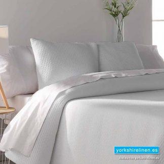 Tarifa Jacquard Bedspread, White - Yorkshire Linen Warehouse Mijas Marbella P03
