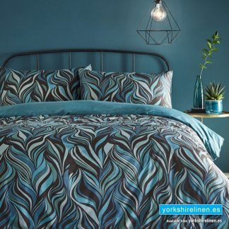 Vortex Lagoon 300 Thread Count Duvet Cover Set - Yorkshire Linen Warehouse Mijas Marbella