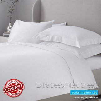 Essential 200 Thread Count Extra Deep Fitted Sheets Yorkshire Linen Warehouse Mijas Marbella Spain P01