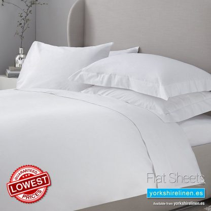 Essential 200 Thread Count Flat Sheets Yorkshire Linen Warehouse Mijas Marbella Spain P01