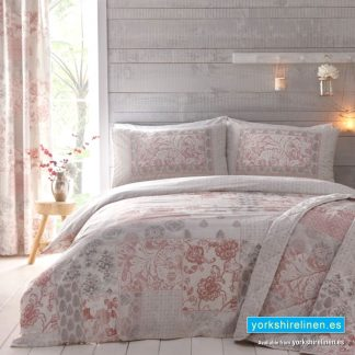 Jakarta Duvet Cover Set Blush Yorkshire Linen Warehouse Mijas Marbella Spain P01