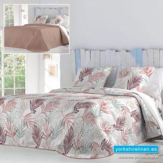 Lain Lightweight Bedspread Terracotta Yorkshire Linen Warehouse Mijas Marbella Spain