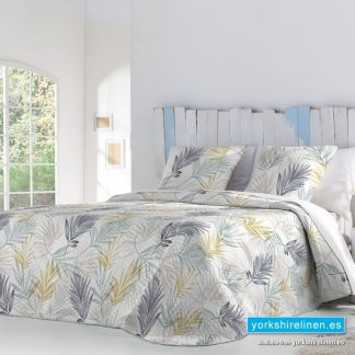 Lain Lightweight Bedspread Yellow Yorkshire Linen Warehouse Mijas Marbella Spain