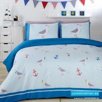 Seagulls Duvet Cover Set Yorkshire Linen Warehouse Mijas Marbella Spain P01