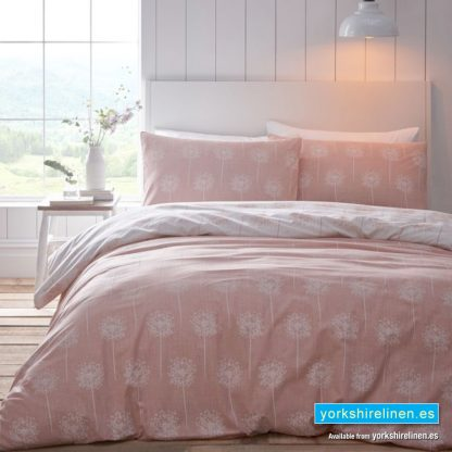Silhouette Duvet Cover Set Coral Yorkshire Linen Warehouse Mijas Marbella Spain P01