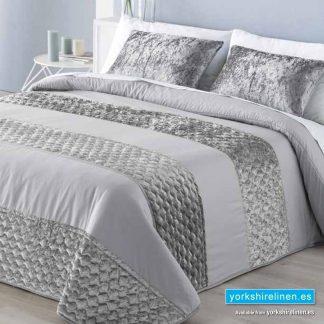 Adam Bedspread Silver Yorkshire Linen Warehouse Mijas Marbella Spain P01