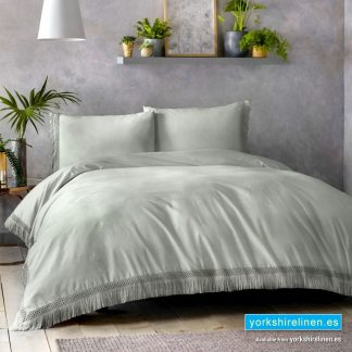 Appletree Tasha Silver Duvet Cover Set Yorkshire Linen Warehouse Mijas Marbella Spain P01