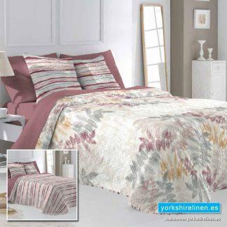 Barey Bedspread, Terracotta