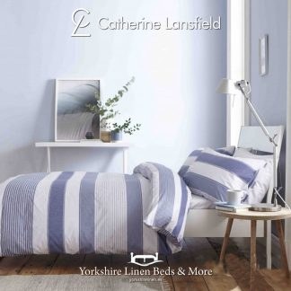 Catherine-Lansfield-Newquay-Stripe-Blue-Duvet-Cover-Set-Yorkshire-Linen-Warehouse-Mijas-Marbella copy