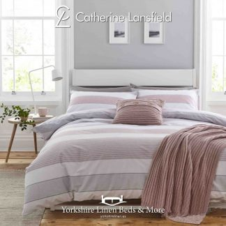 Catherine-Lansfield-Newquay-Stripe-Blush-Duvet-Cover-Set-Yorkshire-Linen-Warehouse-Mijas-Marbella copy