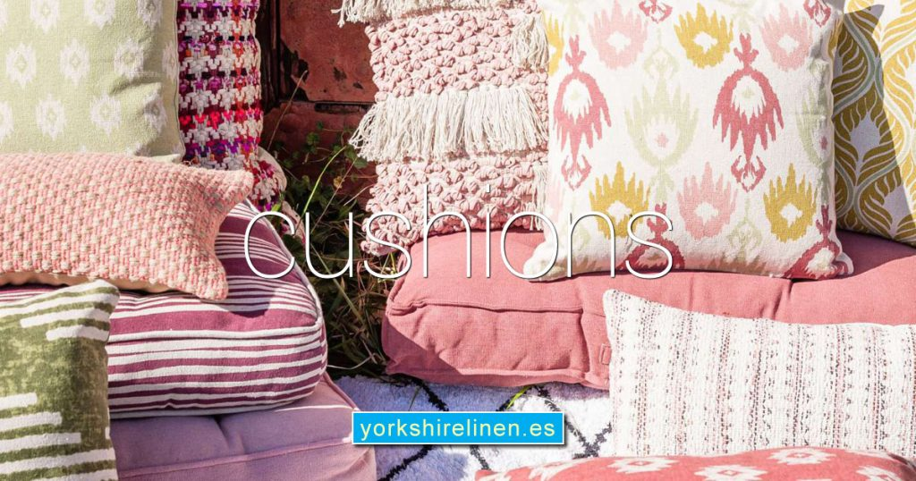 Cushions Cushion Covers Yorkshire Linen Warehouse Spain OG01
