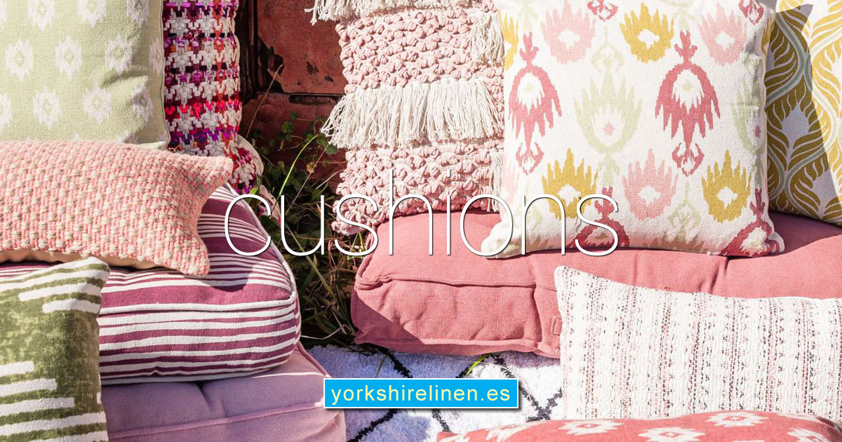 Cushions Cushion Covers Yorkshire Linen Warehouse Spain OG01