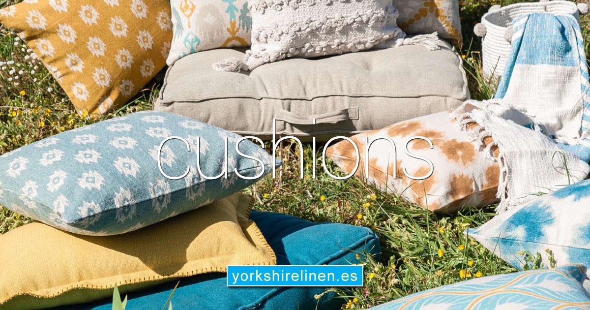 Cushions Cushion Covers Yorkshire Linen Warehouse Spain OG02