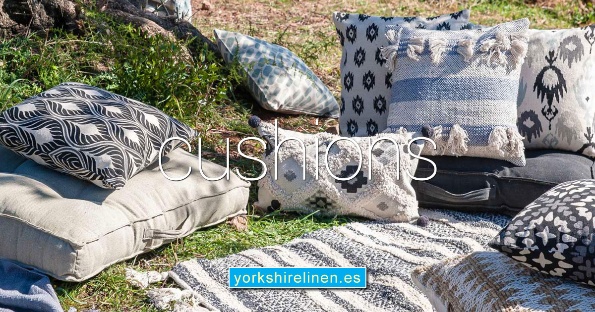 Cushions Cushion Covers Yorkshire Linen Warehouse Spain OG03