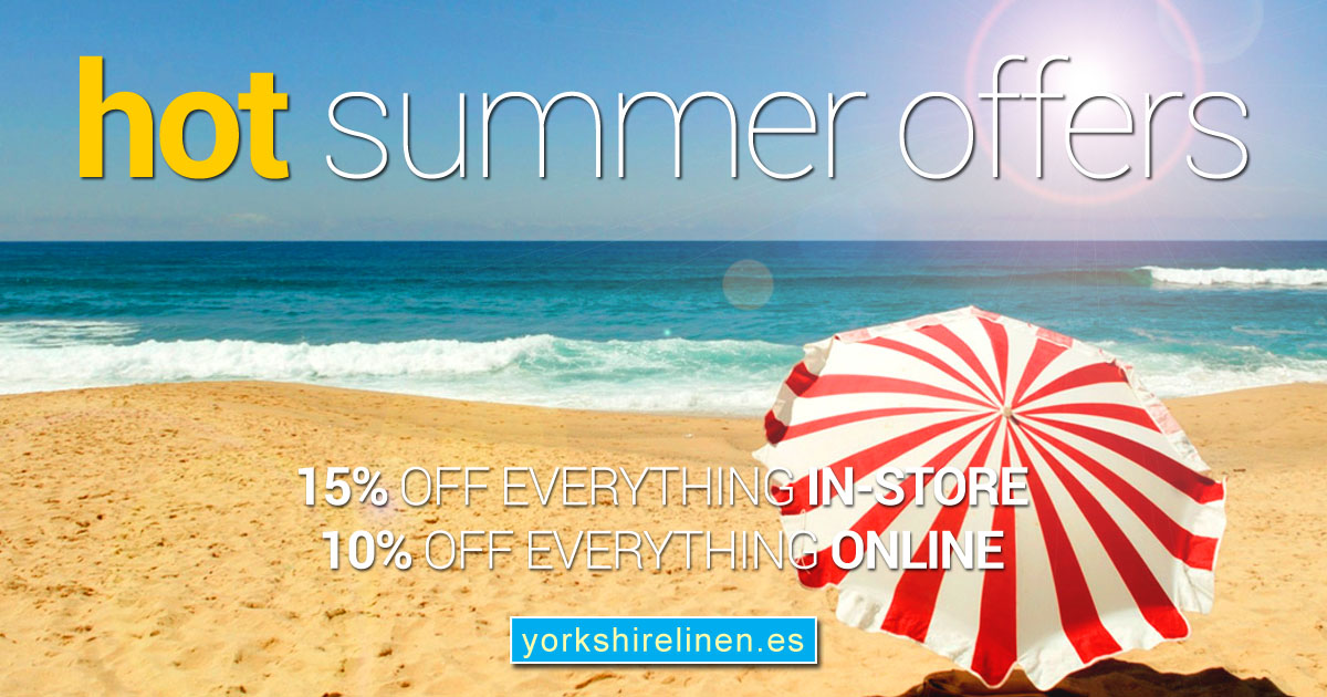 Hot Summer Offers, 2019! SAVE 10% Online, 15% In-Store!