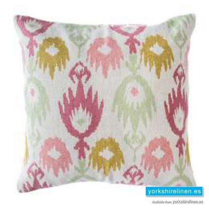 Jackson Raspberry Cushion Cover Yorkshire Linen Warehouse Mijas Marbella Spain P01