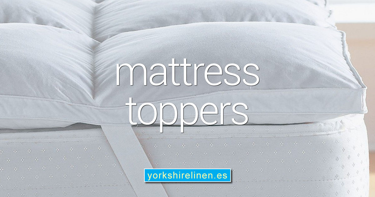 Mattress Toppers from Yorkshire Linen Warehouse, Spain OG01