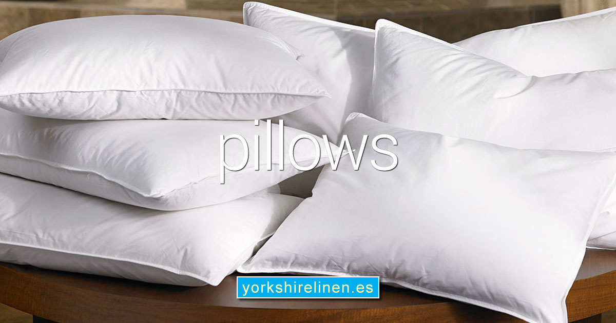 Pillows from Yorkshire Linen Warehouse, Spain OG02