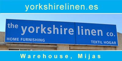 Yorkshire Linen Warehouse, Mijas Costa