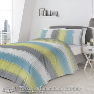 Betley Green Duvet Cover Set Yorkshire Linen Warehouse Beds & More Mijas Marbella Spain P01