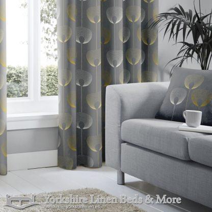 Delta Cushion Cover Grey Yorkshire Linen Warehouse Beds & More Mijas Marbella Spain P01