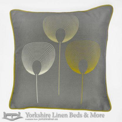 Delta Cushion Cover Grey Yorkshire Linen Warehouse Beds & More Mijas Marbella Spain P02