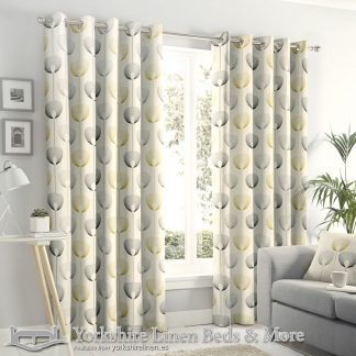 Delta Ring Top Curtains Natural Yorkshire Linen Warehouse Beds & More Mijas Marbella Spain P01