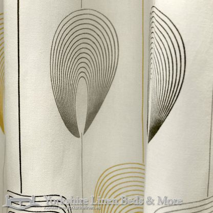 Delta Ring Top Curtains Natural Yorkshire Linen Warehouse Beds & More Mijas Marbella Spain P03