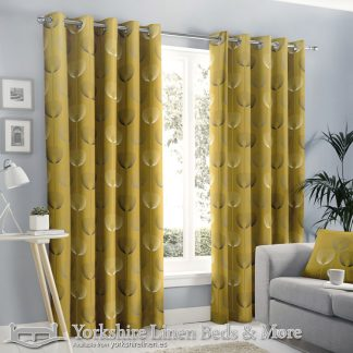 Delta Ring Top Curtains Natural Yorkshire Linen Warehouse Beds & More Mijas Marbella Spain P04