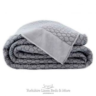Eril Bedspread Charcoal - Yorkshire Linen Beds & More Bed Shops Mijas Costa Marbella P02