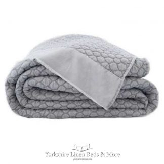 Eril Bedspread Soft Grey - Yorkshire Linen Beds & More Bed Shops Mijas Costa Marbella P02