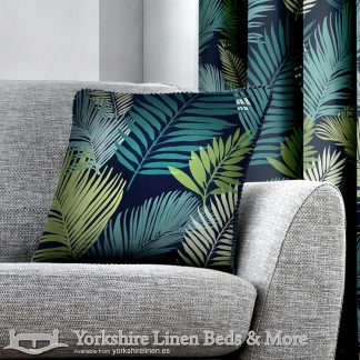Tropical Cushion Cover Multi Yorkshire Linen Warehouse Beds & More Mijas Marbella Spain P01