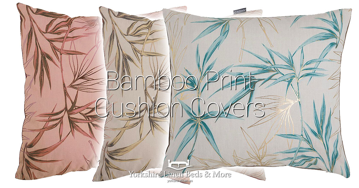 Bamboo Print Cushion Covers New for Autumn Winter 19