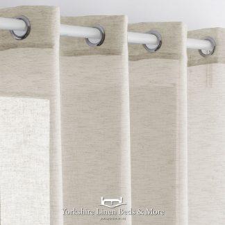 Noelia Linen Style Voile Panel Linen Yorkshire Linen Beds & More Mijas Costa Marbella