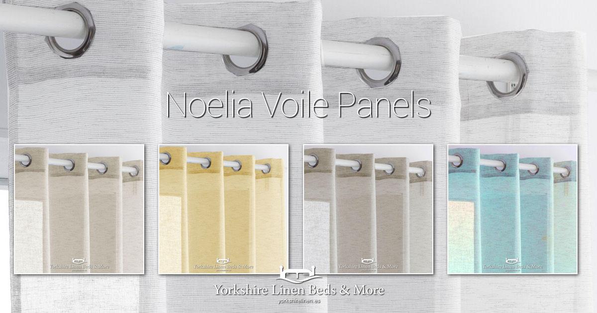 Noelia Voile Panels Yorkshire Linen Beds & More Mijas Costa Marbella OG01