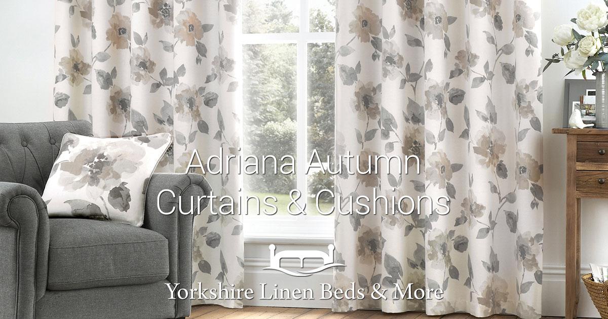 Adriana Autumn Curtains Cushions Yorkshire Linen Warehouse Mijas Marbella Spain OG01