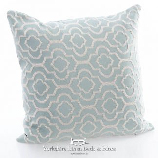 Colonial Duck Egg Square Cushion - Yorkshire Linen Beds & More Bed Shops Mijas Costa Marbella P01