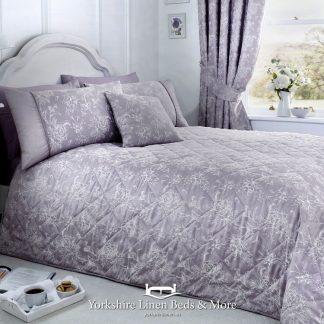Jasmine Bedspread Lavender - Yorkshire Linen Beds & More Bed Shops Mijas Costa Marbella P01