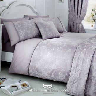 Jasmine Duvet Cover Lavender- Yorkshire Linen Beds & More Bed Shops Mijas Costa Marbella P01