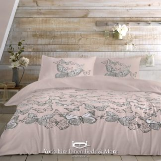 Mariposa Blush Duvet Cover Set - Yorkshire Linen Beds & More Bed Shops Mijas Costa Marbella P01