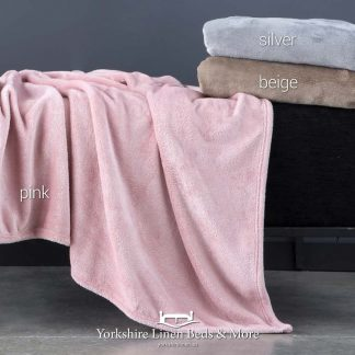Meta Sparkly Throw - Yorkshire Linen Beds & More Bed Shops Mijas Costa Marbella P02