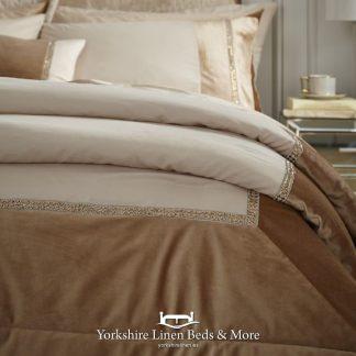 Velvet Diamante Glamour Bedspread - Yorkshire Linen Beds & More Bed Shops Mijas Costa Marbella P01