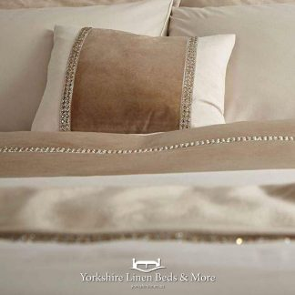 Velvet Diamante Glamour Duvet Cover Set - Yorkshire Linen Beds & More Bed Shops Mijas Costa Marbella P01