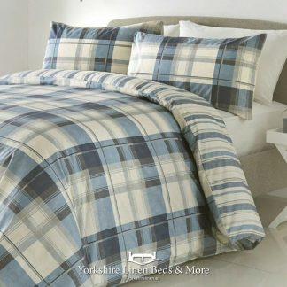 Balmoral Duvet Cover Set Blue - Yorkshire Linen Beds & More Bed Shops Mijas Costa Marbella P01